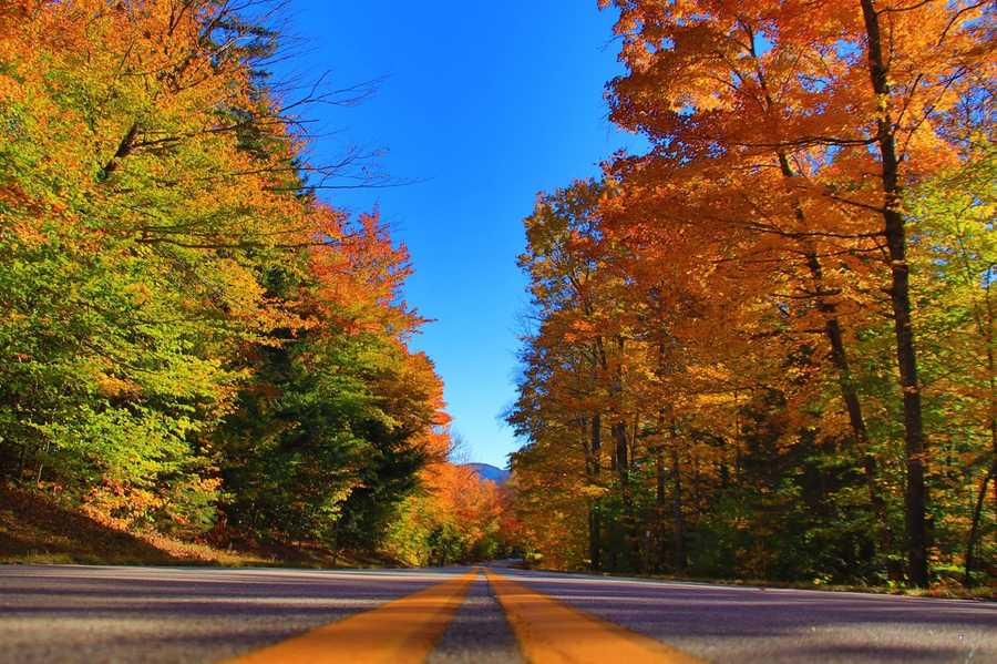 Like taking the road less traveled?  Take a turn onto Bear Notch Road, and you'll be treated to spectacular colors, and less cars.
