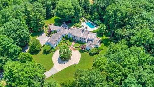 466 Glen Road is on the market in Weston for $6,395,000.