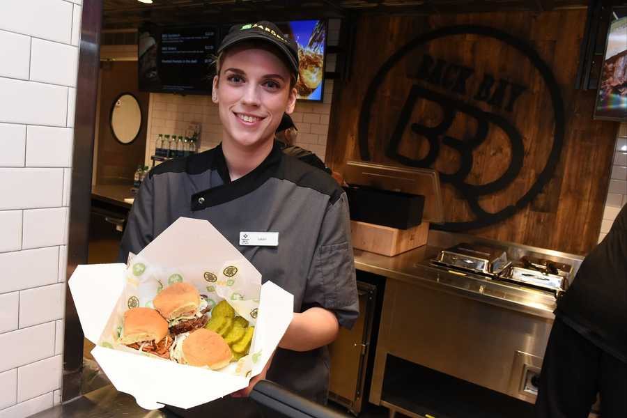 TD Garden unveiled several new food options for Boston Bruins and Boston Celtics fans for the 2016-17 season.