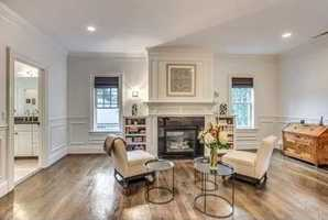 Amenities include surround sound, backup generator, video intercom, and two fireplaces