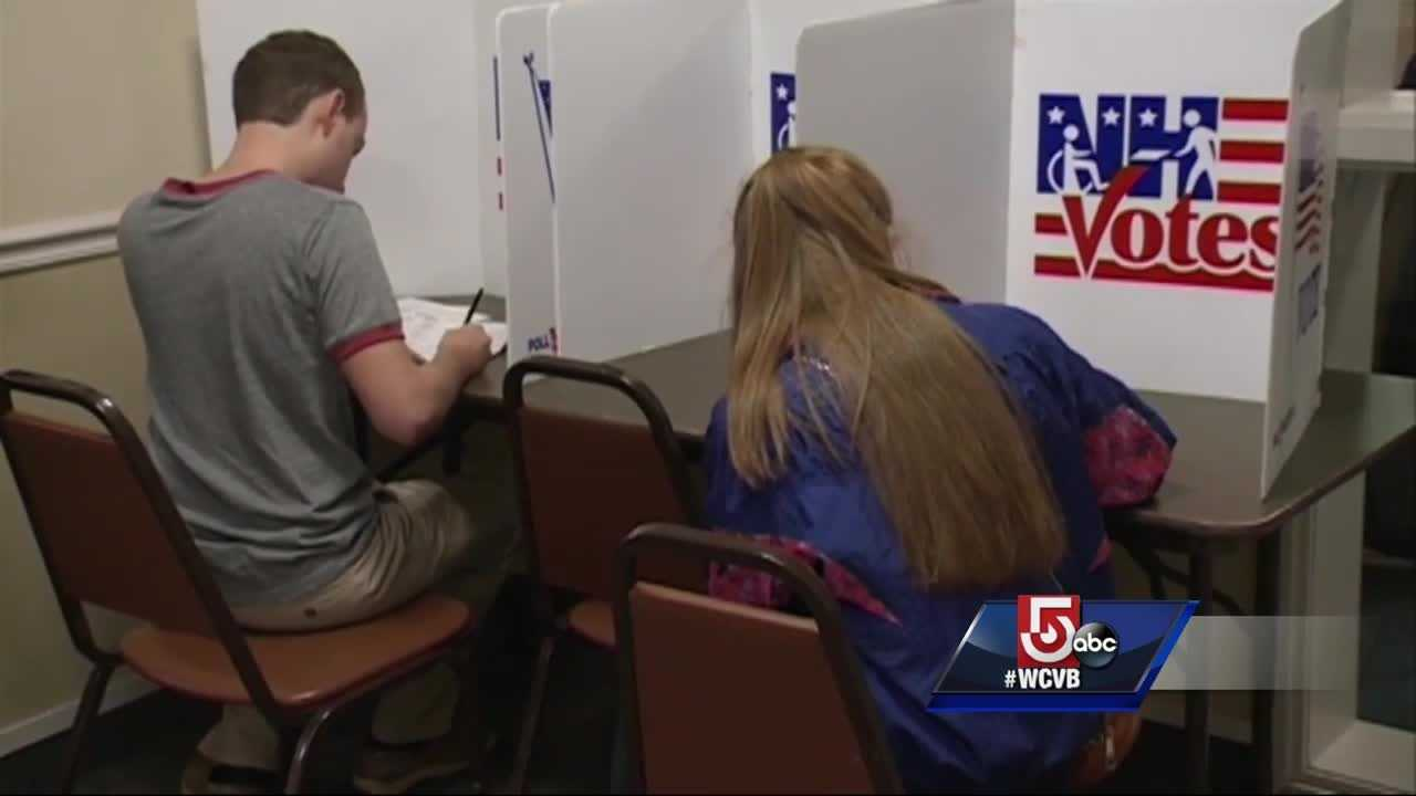 Seriously. New Hampshire officials are fielding questions about whether or not is legal to bring a gun to the polls.