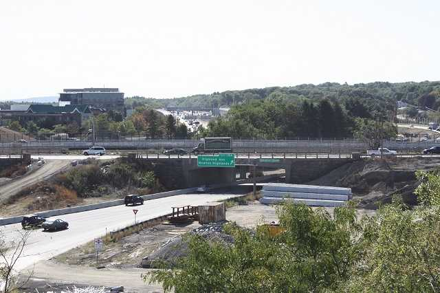 Drivers were warned about traffic detours ahead of the old Highland Avenue bridge demolition over Route 128.