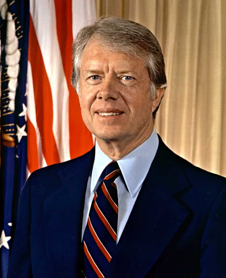 Jimmy Carter was voted by Massachusetts in 1976 and went on to win the election.