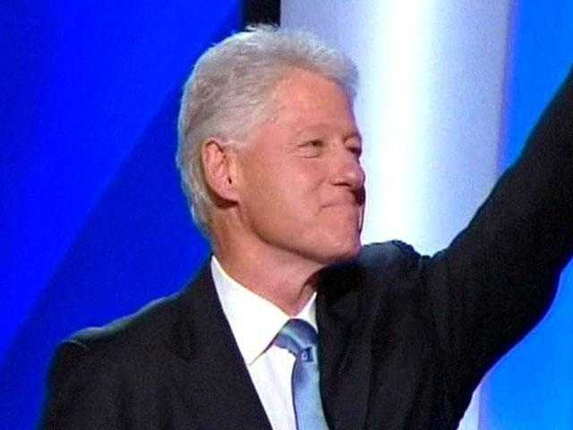 Former President Bill Clinton when asked in a television interview if he ever violated international law