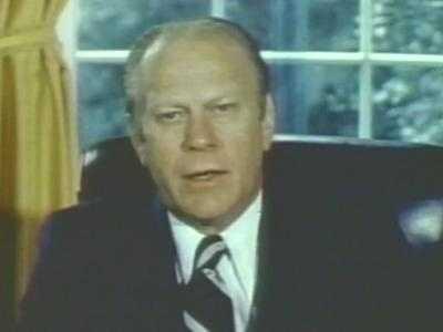 Former President Gerald R. Ford