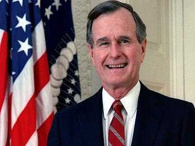 Former President George H. W. Bush when asked if he had any plans to get ideas internationally to improve education