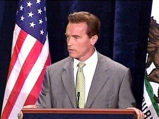 Former Governor of California Arnold Schwarzenegger