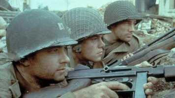 """Steven Spielberg's World War II epic drama """"Saving Private Ryan"""" thrilled audiences in 1998. But the academy wasn't as moved by this story as it was by """"Shakespeare In Love,"""" which ultimately won Best Picture."""