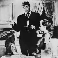 """Robert Mitchum was mesmerizing in 1955's """"Night of the Hunter."""" Who can forget the """"HATE"""" and """"LOVE"""" tattoos on each hand? Apparently the Academy, as not only Mitchum was overlooked, but the movie didn't receive one Oscar nod."""