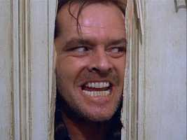 """Jack Nicholson is often knocked for only playing one role: himself. But those who say that never have seen the slow-burning menace he brings to Jack Torrance in """"The Shining."""" Apparently the Academy didn't either, as Nicholson received the same number of Oscar nods for the role as did Stanley Kubrick's 1980 movie itself: zero."""