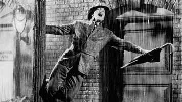 """It's a scene every movie lover knows and loves. Gene Kelly is the definition of uplifting while dancing in the pouring rain and the rest of his performance in """"Singin' in the Rain"""" ain't too shabby either. The film earned only two nominations, neither of them for Kelly."""