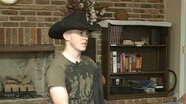 Army Pfc. Kevin Trimble
