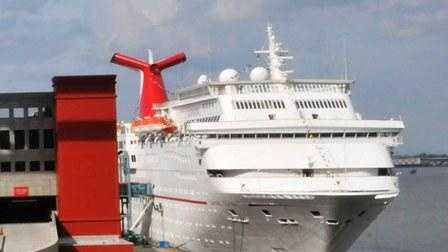 Carnival Elation at the Port of New Orleans