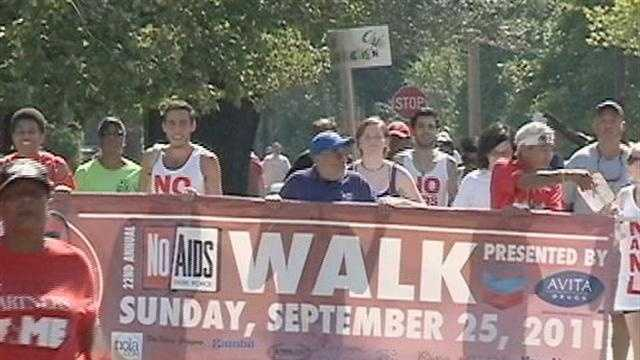NO Aids Walk