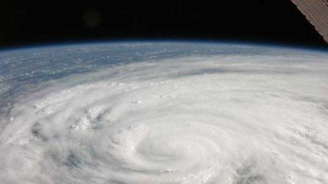 Hurricane, tropical storm, generic, satellite image - 28109389