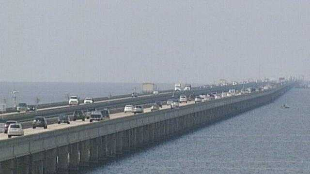 The Lake Pontchartrain Causeway