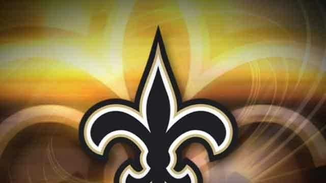 Saints Logo (gold background) - 17572225