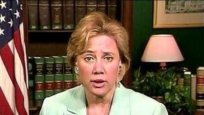 Mary Landrieu talking head - 12315088