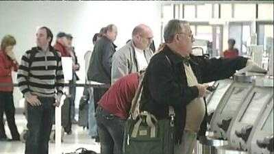 ticket counter check-in at msy louis armstrong international airport generic - 10915985