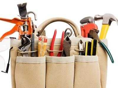 Toolbox with essential tools