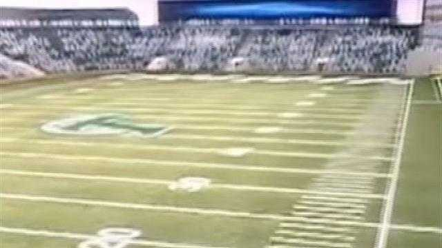 Tulane University hopes to complete construction of a proposed on-campus stadium by 2014.
