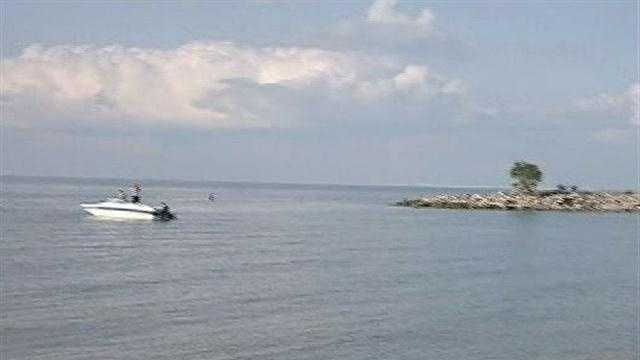 A New Orleans teenager died hours after he slipped under the waters of Lake Pontchartrain.