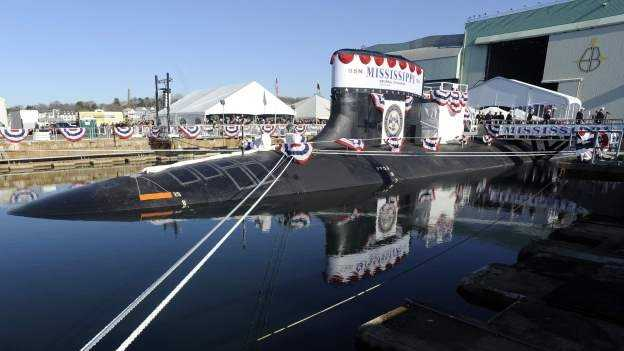 The USS Mississippi