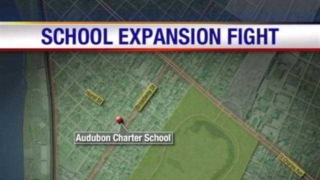 An uptown charter school uptown is doubling in size, but some neighbors said they didn't have enough say in the process.