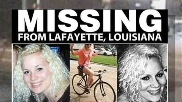Police find missing ULL student's bike, as search expands across Louisiana and the U.S.