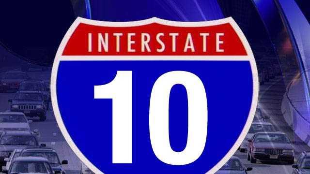 I-10 sign
