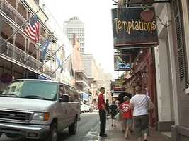 June 11, 2012: Lockhart worked at Temptations on Bourbon Street before she was killed. Surveillance video from the night she disappeared shows her leaving with two people -- a man and a woman. Read the story