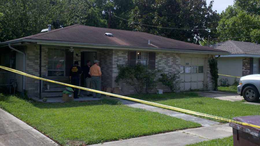 June 13, 2012: Law enforcement officials searched the Kenner residence of Terry Speaks and Margaret Sanchez as part of the investigation into the death of Lockhart. Read the story