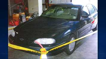Terry Speaks and Margaret Sanchez were pulled over and arrested in this car on Tuesday night in Tangipahoa Parish.