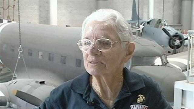 One volunteer at the World War II Museum is being recognized for reaching 10000 hours of service.