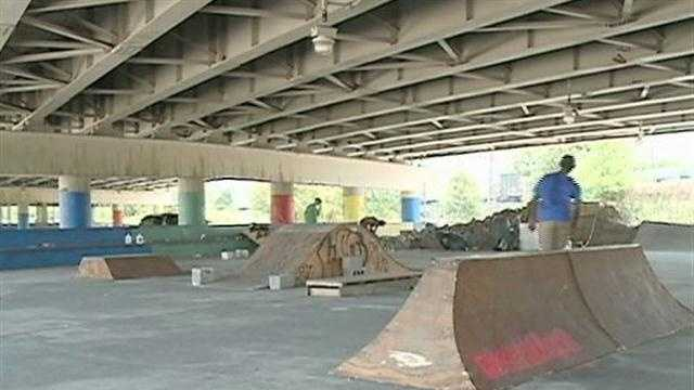 Skateboarders need designated area, some say