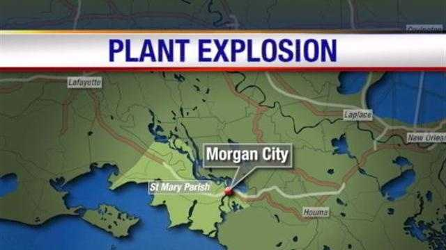 Authorities in Morgan City are investigating the cause of an explosion at a power plant.