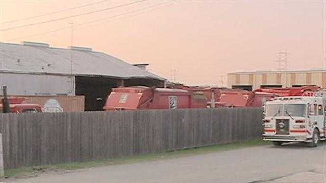 A man was killed in an accident involving a garbage truck in Metairie on Tuesday night.