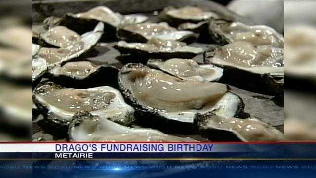 Drago's Restaurant in Metairie hopes to raise $90,000 Wednesday in celebration of its founder's 90th birthday. The proceeds will go toward rebuilding the homes of Hurricane Katrina victims.