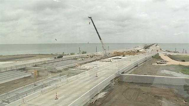 The Lake Ponchartrain Causeway Commission was expected to meet Wednesday night to update commuters on a project kicking off at the Northshore toll plaza.