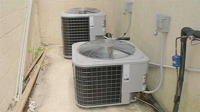 With summer's scorching temperatures, it's hard to imagine being without air conditioning, but many businesses in the metro area have been hit with AC unit thefts.