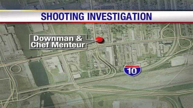 One man was injured after a Wednesday morning shooting in New Orleans East.