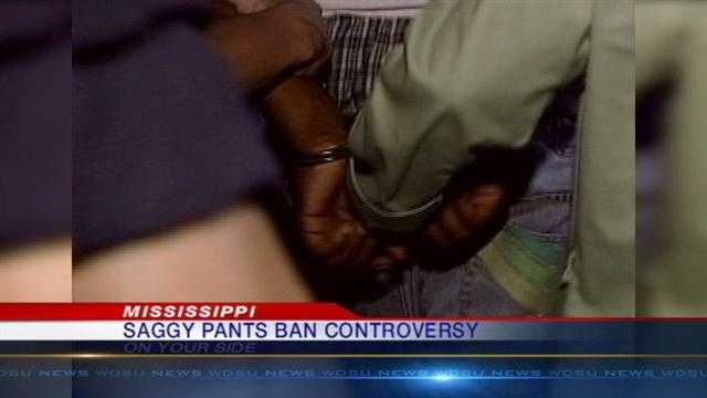 The American Civil Liberties Union is vowing to fight a saggy pants ban in Hinds County, Mississippi.
