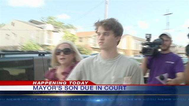 Mayor Mitch Landrieu's son, Benjamin Landrieu, is expected in court on DUI charges Wednesday