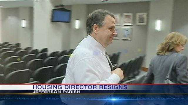 Barry Bordelon resigned Friday after a federal audit was critical of the housing agency.