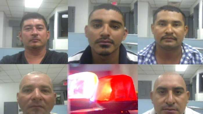 Top: Wilfredo Agualera Matamoros, Jesus Migual Oquendo-Gruz, Pedro Martinez.Bottom: Juan Rodregues, Angel Vega