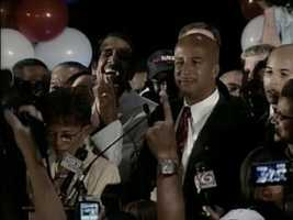 2002 - Ray Nagin elected Mayor of New Orleans.