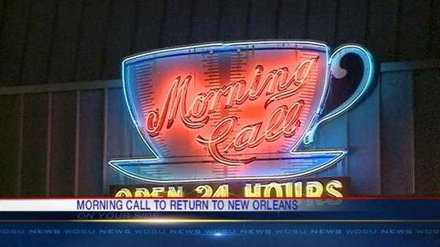 Famed French Quarter institution, Morning Call, will be setting up shop in City Park.
