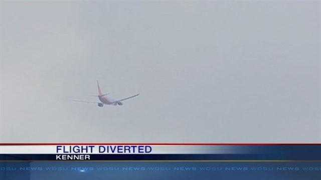 Flight Makes Emergency Landing To Armstrong International