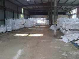 Sandbags were available Lafitte Monday for residents.