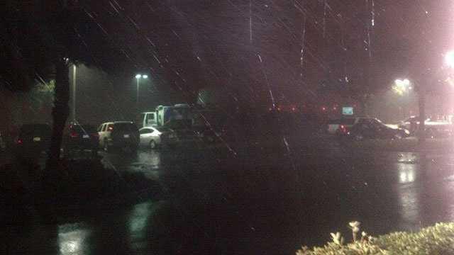 Hurricane Isaac, heavy rain in Gulfport